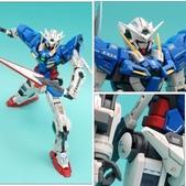 MG 1/100 GN-001 Gundam Exia能天使鋼彈 SOLO秀:相簿封面