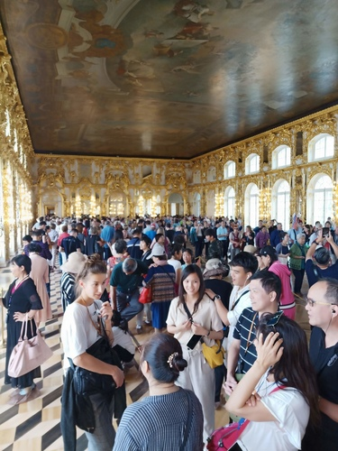 IMG20190725161752.jpg - 7/25 Day7(星期四)聖彼得堡-聖以薩大教堂-凱薩琳宮(琥珀廳)