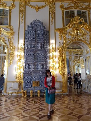 IMG20190725161549.jpg - 7/25 Day7(星期四)聖彼得堡-聖以薩大教堂-凱薩琳宮(琥珀廳)