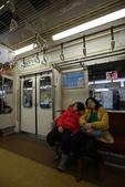 東京散策一日目=スカイツリーとの出会い:電車に