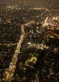 東京散策一日目=スカイツリーとの出会い:東京都眺望。世界は小さくなっちゃったな。(泰山に登り、天下は小さくなりって孟子の名句みたいな感じ)