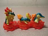 神奇寶貝 底盤擺飾 大全:火球鼠進化組