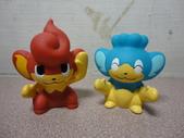 神奇寶貝(精靈寶可夢) KIDS指偶 BW時期:爆香猴 X 冷水猴