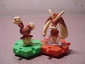 神奇寶貝 底盤擺飾 大全:捲捲耳進化組