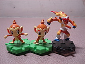 神奇寶貝 底盤擺飾 大全:小火焰猴進化組(缺一)