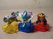 神奇寶貝 底盤擺飾 大全:金銀版三神獸