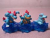 神奇寶貝 底盤擺飾 大全:小巨鱷進化組