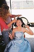 婚紗照過程:外拍中