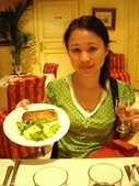 法國蜜月第五天:晚餐_老婆