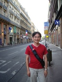 法國蜜月第五天:土魯斯街道_老婆