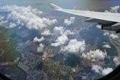 法國蜜月第一天:機上鳥瞰