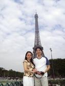 法國蜜月第十一天:艾菲爾鐵塔_老婆