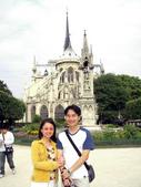 法國蜜月第十一天:聖母院_老婆