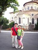 法國蜜月第五天:聖塞爾南大教堂_老婆