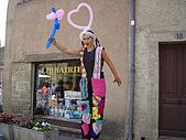 法國蜜月第五天:賣氣球_老婆