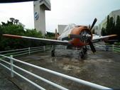 國內外軍事警政消防相簿:航科館館外陳展的美製T-28A型啄木鳥式教練機