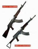 國內外國防軍警消防保全相簿:81式自動步槍