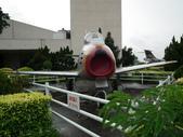 國內外軍事警政消防相簿:航科館館外陳展的美製F-86型軍刀式戰鬥機