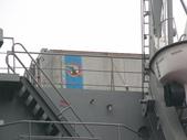 國內外軍事警政消防相簿:武夷軍艦後段上層結構甲板上出現的民用海運貨櫃