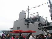 國內外軍事警政消防相簿:武夷軍艦後段上層結構與直升機甲板