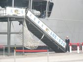 國內外軍事警政消防相簿:武夷軍艦右舷舷梯