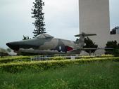 國內外軍事警政消防相簿:航科館館外陳展的美製RF-101型巫毒式偵照機