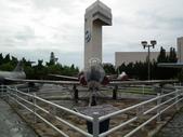 國內外軍事警政消防相簿:航科館前陳展的美製T-33型梯鳥式教練機