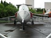 國內外軍事警政消防相簿:航科館館外陳展的美製F-104型星式戰鬥機