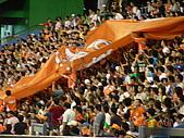 0806職棒冠軍賽:統一麵出場的大旗