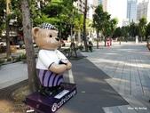 1311草悟道&市民廣場-泰迪熊:草悟道-泰迪熊