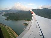 0908雲南八日遊-1:飛機上