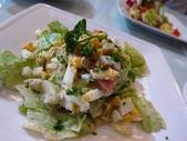 1107古拉爵:火腿生菜沙拉