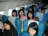 0706韓國濟州泰迪熊:飛機上