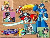 洛克人系列桌布:rockmanx5_03