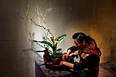 2011年3月18日於花蓮縣文化中心舉行會員聯展:LIU_0981中華花藝推廣協會花展創作中6.jpg