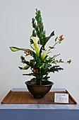 2011年3月18日於花蓮縣文化中心舉行會員聯展:LIU_2212中華花藝推廣協會花展中庭02.jpg