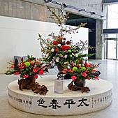 2011年3月18日於花蓮縣文化中心舉行會員聯展:LIU_2232中華花藝推廣協會花展中庭09.jpg