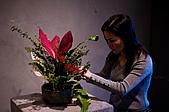 2011年3月18日於花蓮縣文化中心舉行會員聯展:LIU_0801中華花藝推廣協會花展創作中3.jpg
