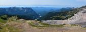 夏。雷尼爾國家公園與聖海倫火山:Panorama_Rainier.jpg