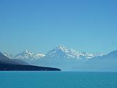紐西蘭風景篇:Pukaki湖遠望庫克山.jpg