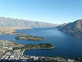 紐西蘭風景篇:俯瞰Wakatipu湖2.JPG