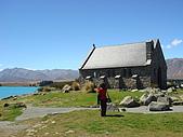 紐西蘭風景篇:Tekapo湖畔牧羊人小教堂1.JPG
