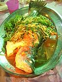 2010尾牙:清蒸鮮鱸魚~還好O_O