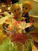 皇凱曉梅婚宴:可愛的新人裝飾~