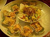 皇凱曉梅婚宴:沙拉焗海鮮~
