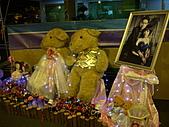 皇凱曉梅婚宴:到處都是熊~很可愛XD