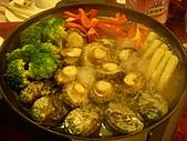 皇凱曉梅婚宴:好大一顆鮑魚~好好吃O////O