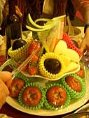 皇凱曉梅婚宴:突然出現的水果塔...@@