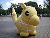 六福村員旅:可愛的馬兒