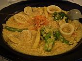 希臘秘密旅行:海鮮燉飯?!、燉麵?!...很特別的口味....@@